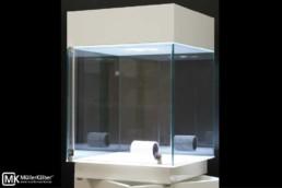 Aufsatzvitrine MK 640 Glasaufsatz mit Diamantdrehlicht MK OptiLight 06