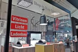 Bei MüllerKälber erhalten Sie Vitrinen, Licht und Ladenbau