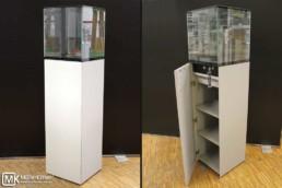 MK 640 AllMetal Museumsvitrine, passive Klimatisierung