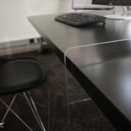 MK Schutztrennwand für Tisch, Detail
